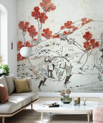 Mural - Katsushika Hokusai (Per Sqm)