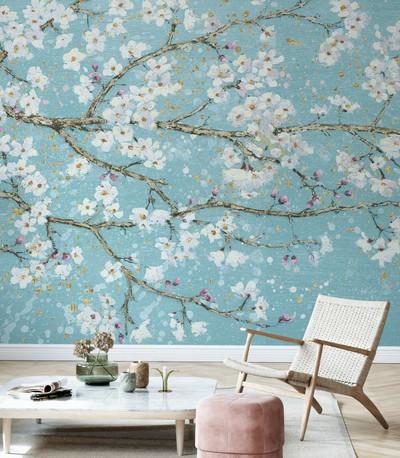 Mural - April Breeze (Per Sqm)