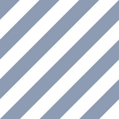 Diagonal Stripe - Blue