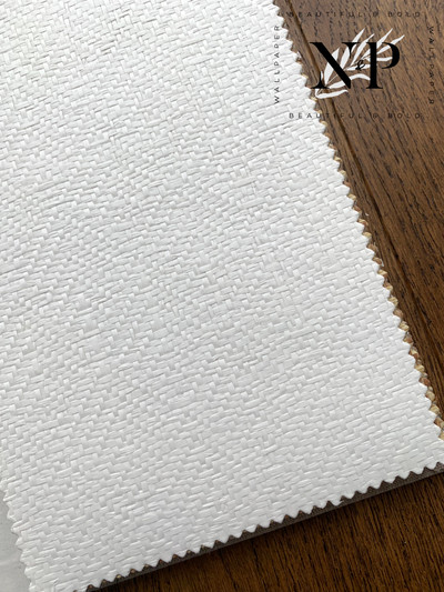 CASABLANCA WEAVE - WHITE