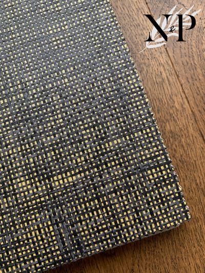 ARANCE PAPER WEAVE - BLACK / GOLD