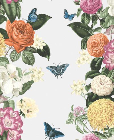 Bloomsbury Wallpaper - White