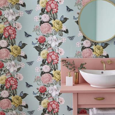 Bloomsbury Wallpaper - Neo Mint