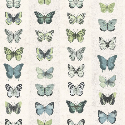 Butterfly Wall - Green / Blue