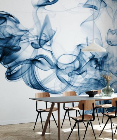 MURAL - BLUE SMOKE (PER SQM)