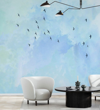 MURAL - FLYING HIGH BIRDS (PER SQM)