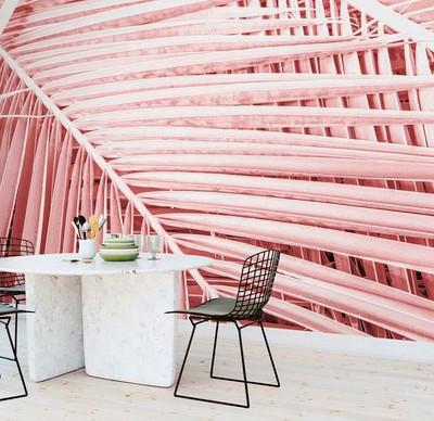 Mural - Pink Tropics (Per Sqm)