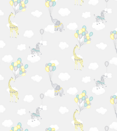 ANIMAL BALLOONS - GREY