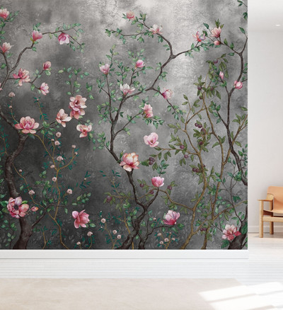 MURAL - GROWING MAGNOLIAS (PER SQM)
