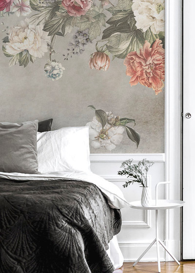 MURAL - VINTAGE FLOWER WALL (PER SQM)