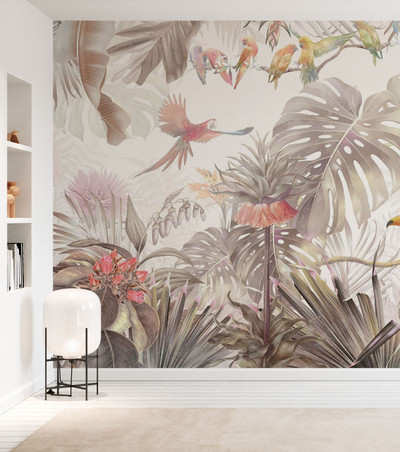 MURAL - TROPICAL BIRDS (PER SQM)