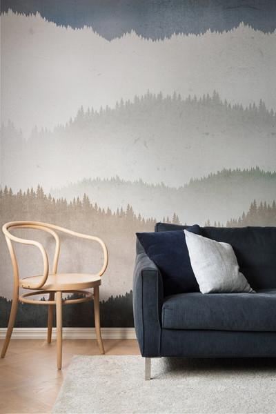 Mural - Landscape Greige (Per Sqm)