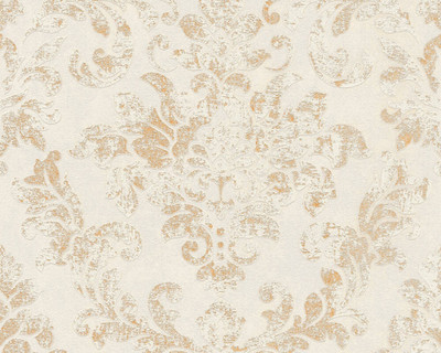 Neue Damask - Cream / Gold