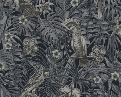 Jungle Birds - Grey / Black