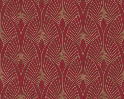 BAROQUE DECO - RED / GOLD