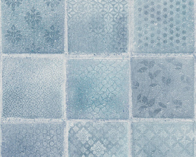 NEUE BUDE TILE - BLUE