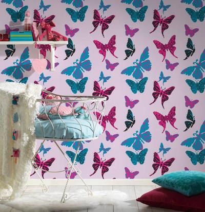 Butterflies - Pink / Blue