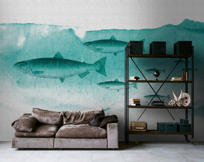 Mural - Into The Blue 2 (4m X 2.7m)