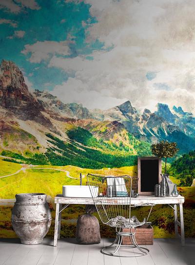 Mural - Dolomiti 1 (5m X 2.7m)