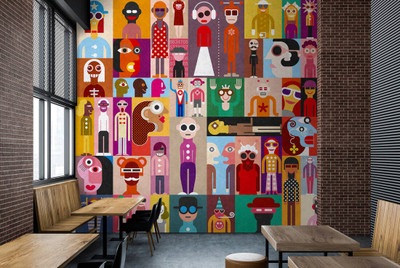 Mural - Come As You Are (4m X 2.7m)