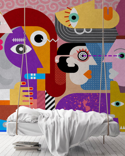 Mural - Couples 1 (5m X 2.7m)