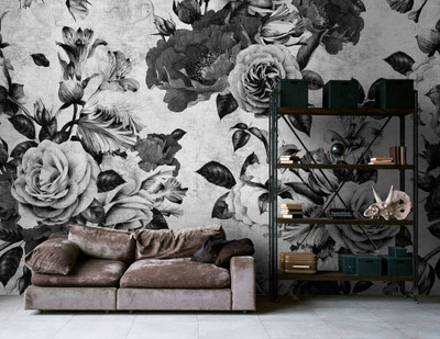Mural - Spanish Rose 1 (4m X 2.7m)