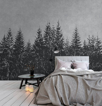 Mural - Black Forest 3 (4m X 2.7m)
