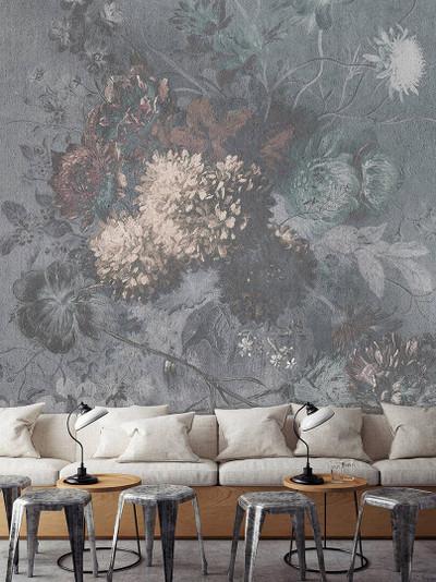 Mural - Bouquet Gris 1 (3m X 2.7m)