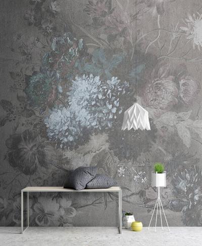 Mural - Bouquet Gris 2 (3m X 2.7m)
