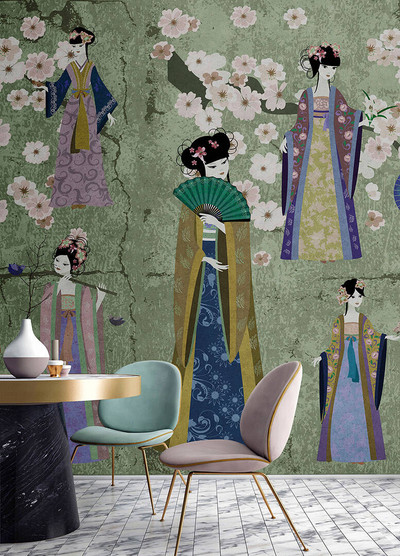 Mural - Kimono 1 (5m X 2.7m)