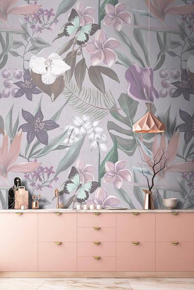 Mural - Orchid Garden 3 (4m X 2.7m)