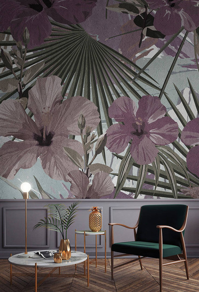 Mural - Hibiscus 2 (4m X 2.7m)