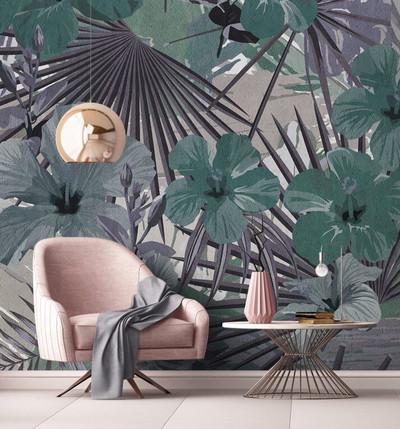 Mural - Hibiscus 3 (4m X 2.7m)