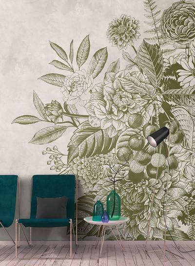 Mural - Greenery 2 (4m X 2.7m)
