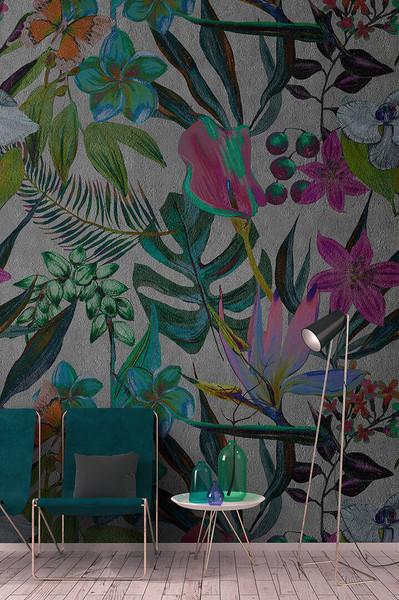 Mural - Exotic Night (4m X 2.7m)