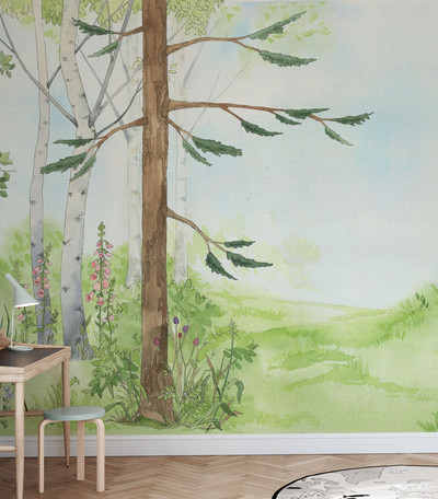 MURAL - FOREST PATHWAY (PER SQM)