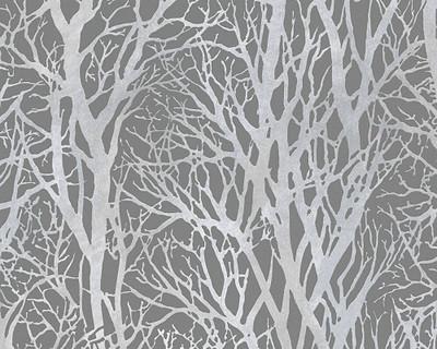 METALLIC TREES - GREY