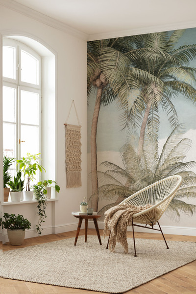 MURAL - PALM OASIS (2.0m x 2.8m)