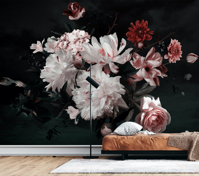 Mural - Bunch Of Flowers (3.5m X 2.55m)