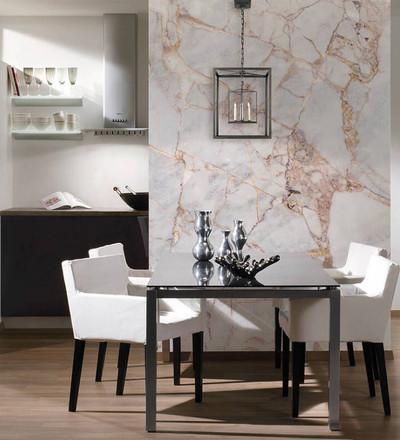 Mural - Gray Light Marble (3.5m X 2.55m)
