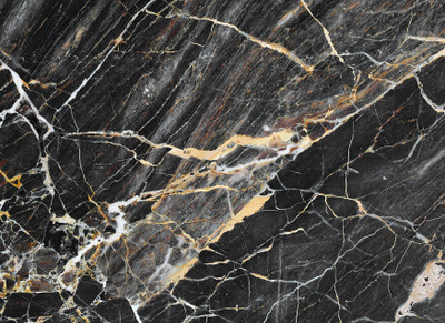 MURAL - BLACK GOLD MARBLE (3.5m x 2.55m)
