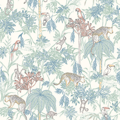 WILD JUNGLE - WHITE / MULTI