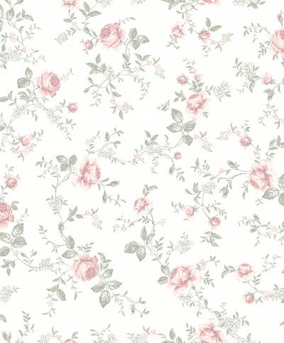 ROSE GARDEN - WHITE / PINK