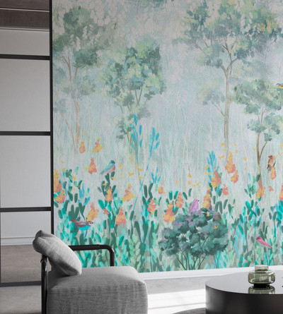 MURAL - MORNING VEGETATION (PER SQM)