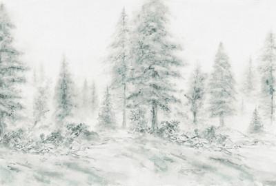 Mural - Aquarel Forest 1 (4m X 2.7m)