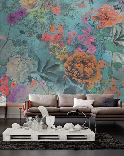 Mural - Colour Plants 1 (3m X 2.5m)