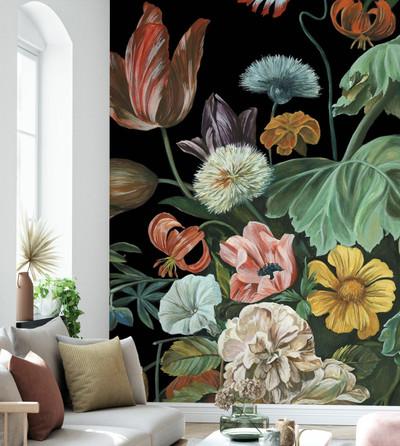 Mural - Baroque Floral (Per Sqm)