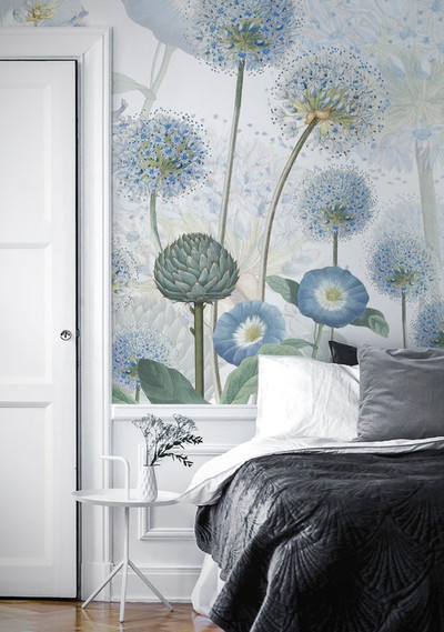 MURAL - BLUE WILD MEADOW (PER SQM)