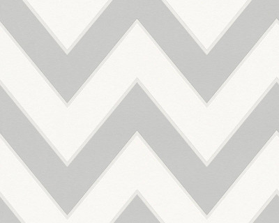 MICHALSKY CHEVRON - GREY / WHITE