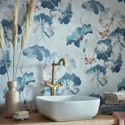Water Lilies - Blue Dusk